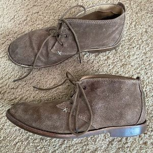 ALDO BROWN SUEDE LEATHER CHUKKA LACE BOOT 9.5